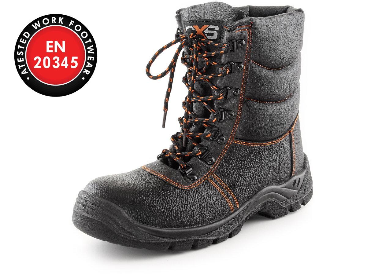 44d444739e33 CXS STONE TOPAZ S3 WINTER poloholeňová obuv