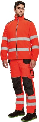 KNOXFIELD HI-VIS fleecová bunda
